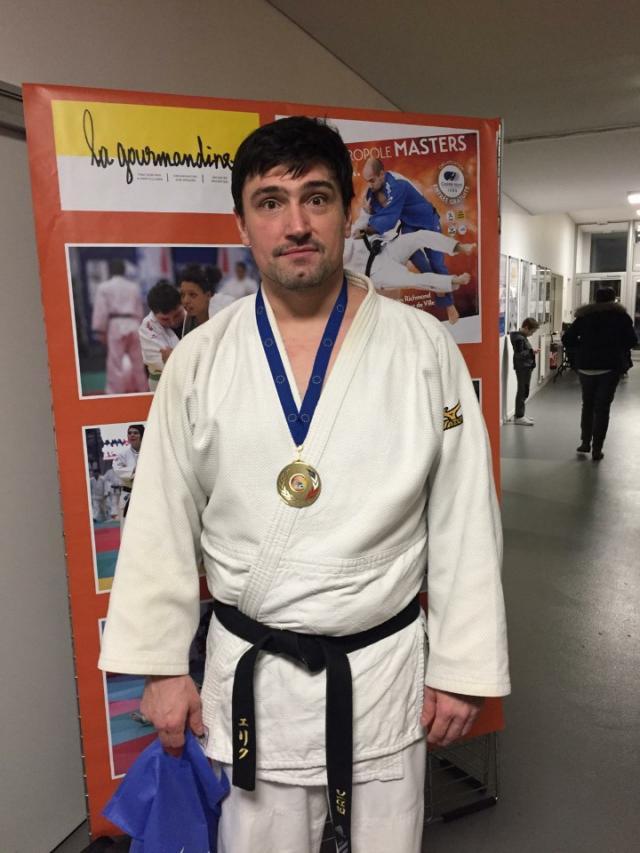 Eric Podium Lille Judo